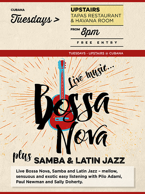Bossa Nova at Cubana