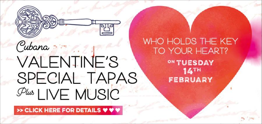 Valentine's at Cubana