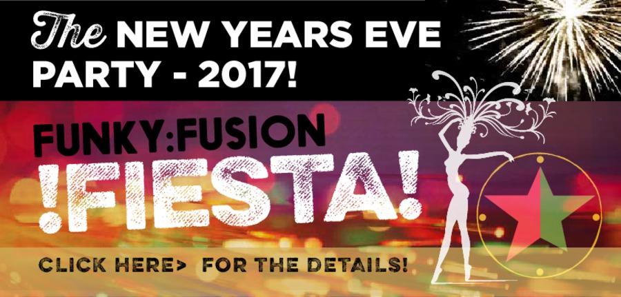 Funky Fusion Fiesta - New Years Eve 2016 at Cubana